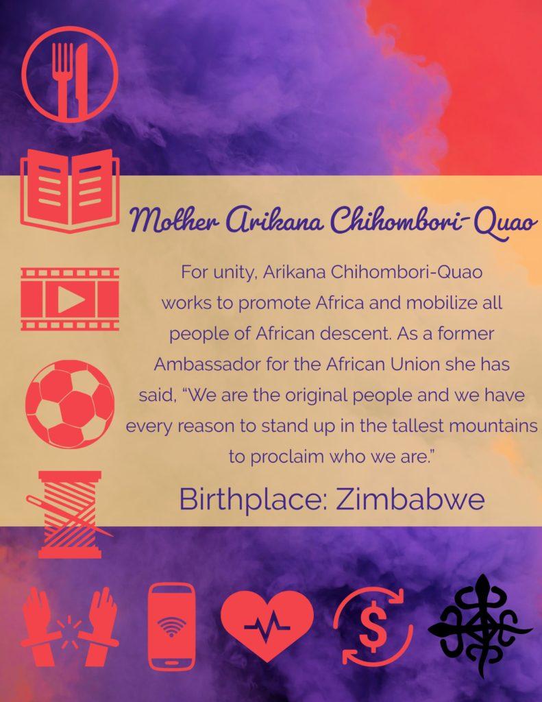 MothersArikana Chihombori-Quao