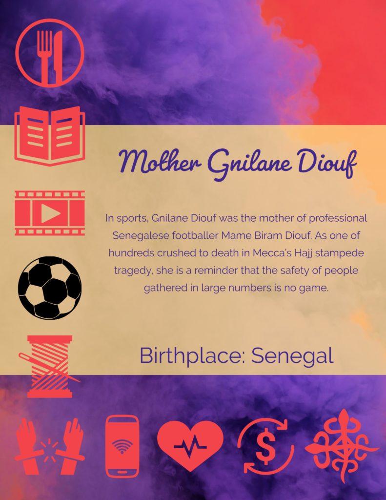 MothersGnilane Diouf