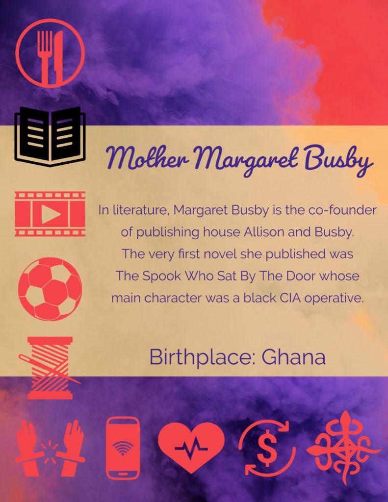 MothersMargaret Busby