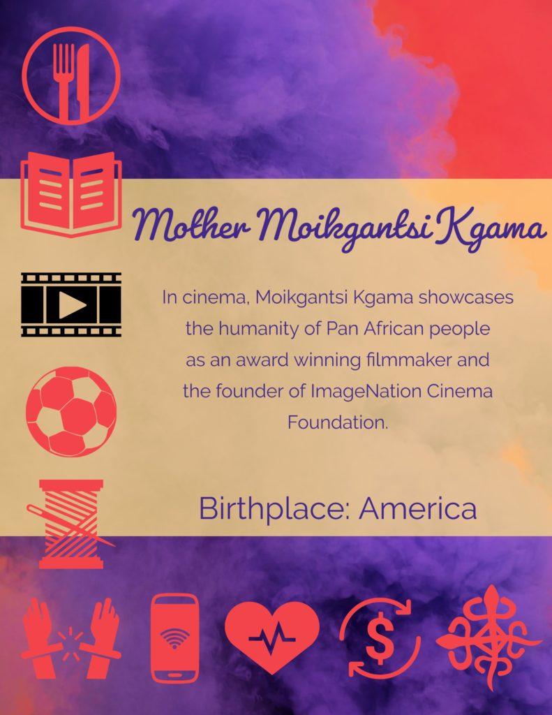 Mother Moikgantsi Kgama